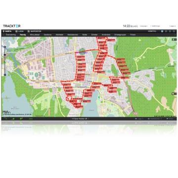 MiniFinder Tracktor® Spårningssystem